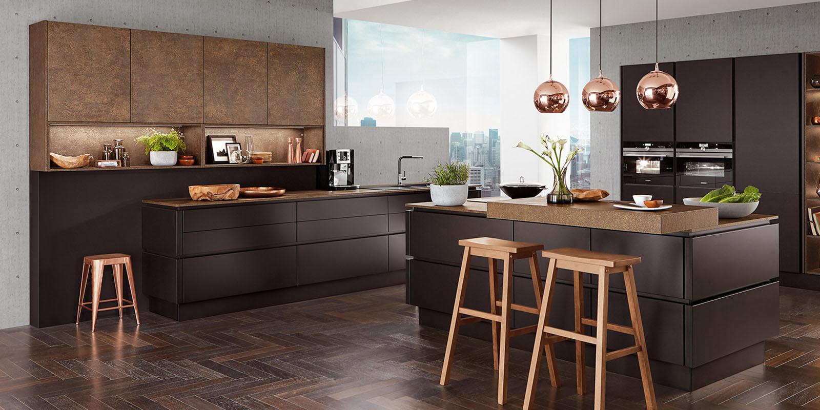 einbauk chen design. Black Bedroom Furniture Sets. Home Design Ideas